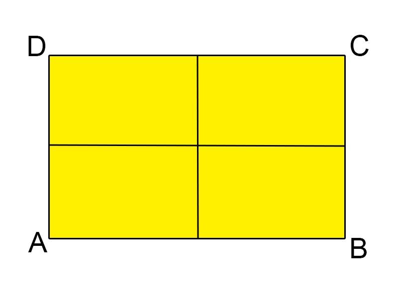 sumbu simetri persegi panjang